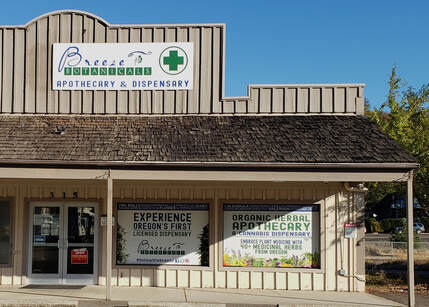 Gold Hill Dispensary Breeze Botanicals Store