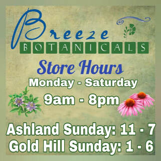 Breeze Botanicals Store Hours